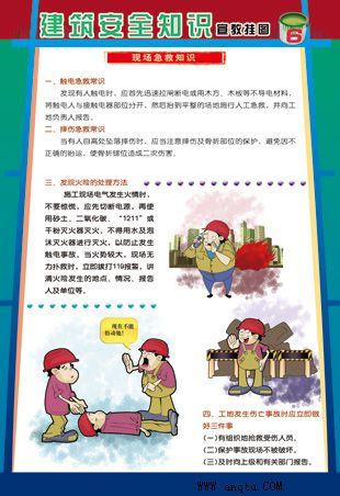 建筑安全常识挂图图片