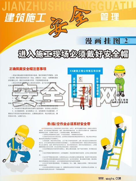 建筑施工安全管理知识挂图